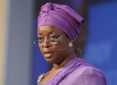 Nigeria's Petroleum Minister Diezani Alison-Madueke