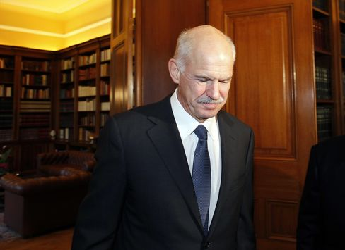 Papandreou to Step Down in Accord on Greek Unity Government