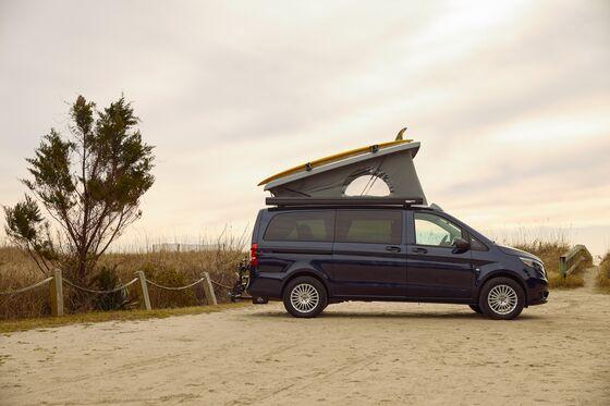 Mercedes Brings a Pop-Up Camper Van to the U.S. Market