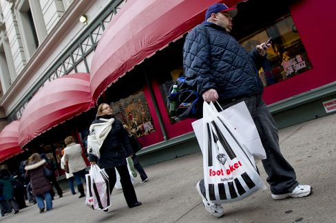 Retail Sales in U.S. Probably Climbed at Slower Pace March