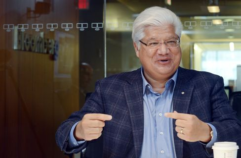 BlackBerry Co-founder and Vice chairman Mike Lazaridis