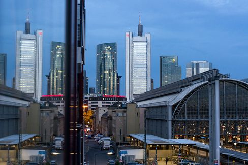 Germany: Skyline of Frankfurt am Main