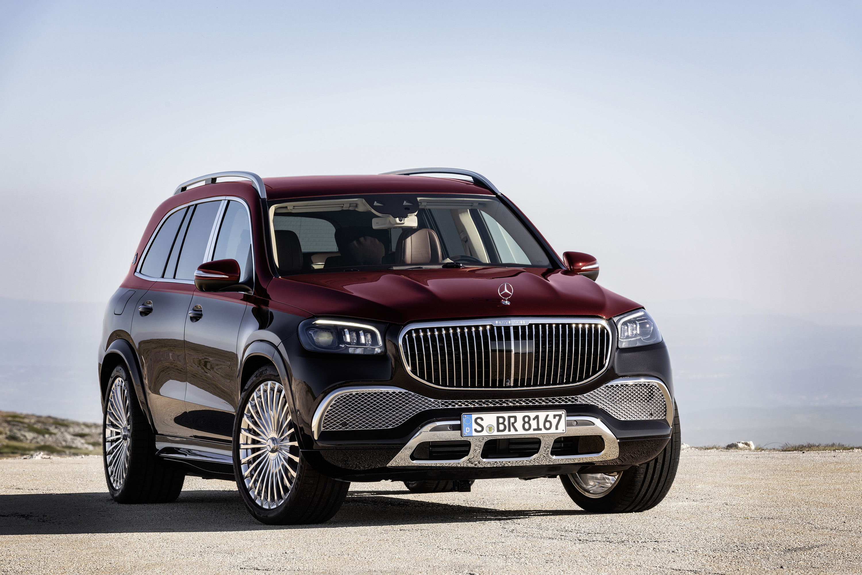 Mercedes Maybach Suv Seeks To Tap Cachet Of Flagship S Class Bloomberg
