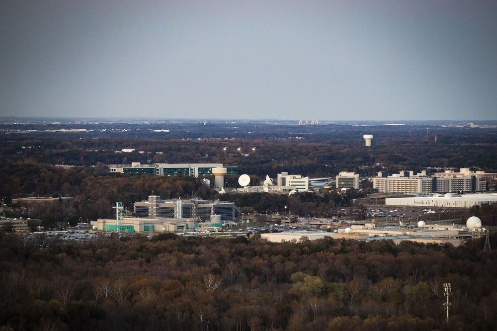 The National Security Agency (NSA) campus in Maryland.