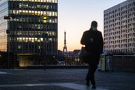La Defense Business District With Brexit Finance Shift To France Accelerating