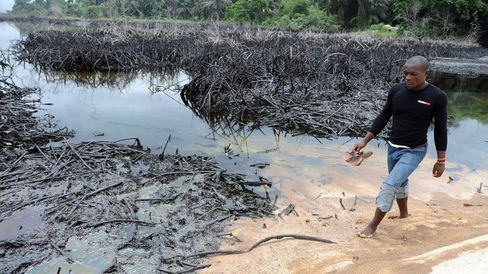 Nigerian Oil-Producing Ogoniland Area