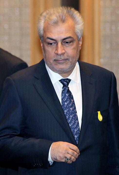 Iraq's Oil Minister Abdul Kareem al-Luaibi