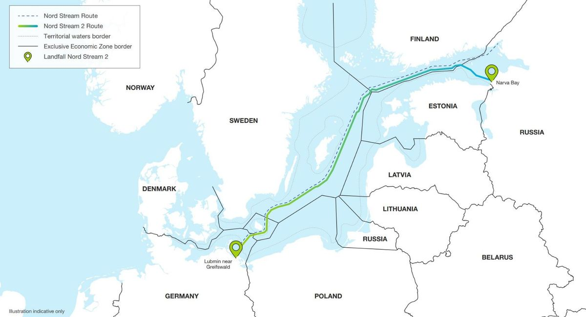Germany Confident of Nord Stream 2 Completion by Year's End