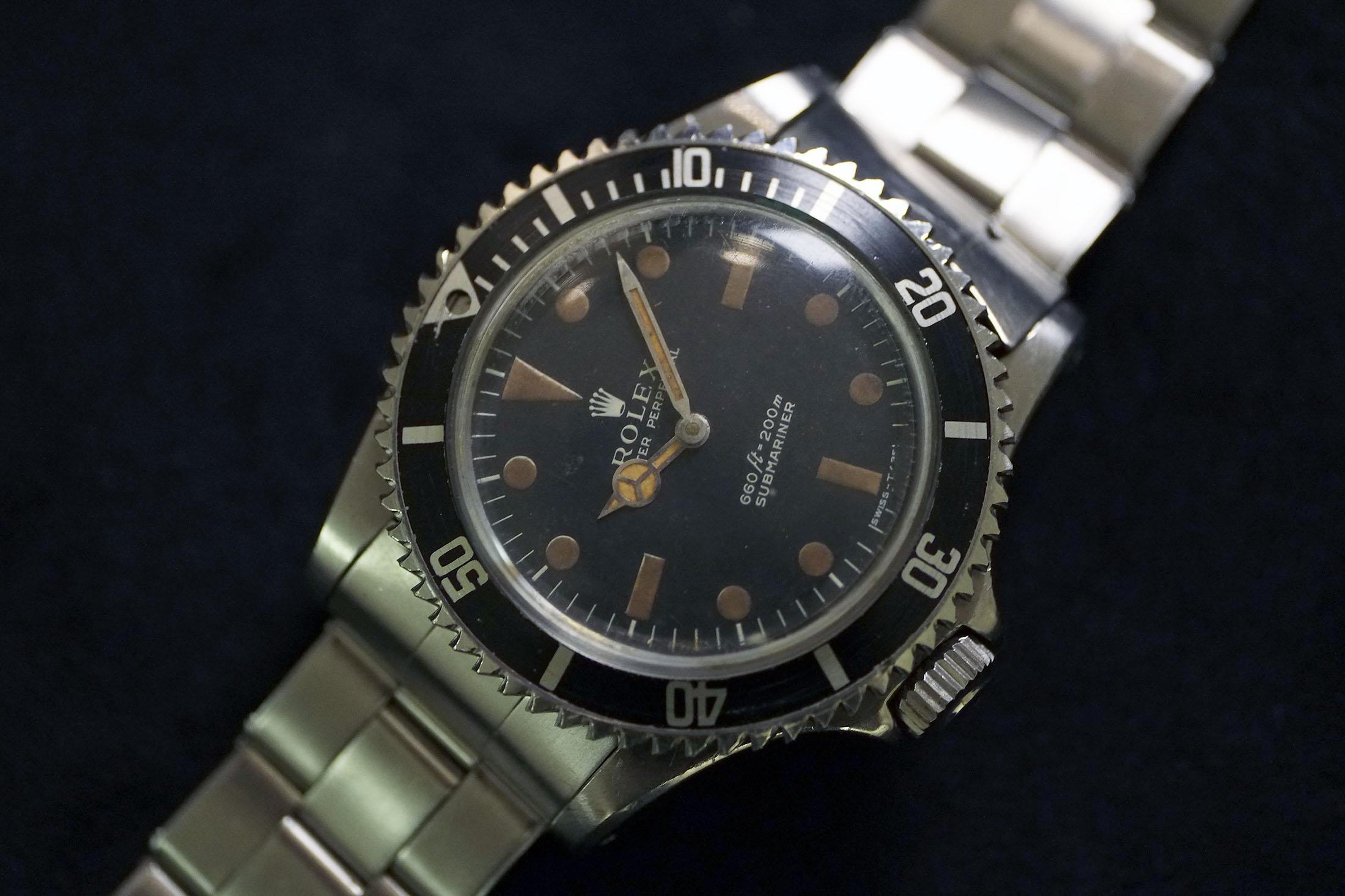 Rolex Submariner Worn by 007 (Lot 290)
