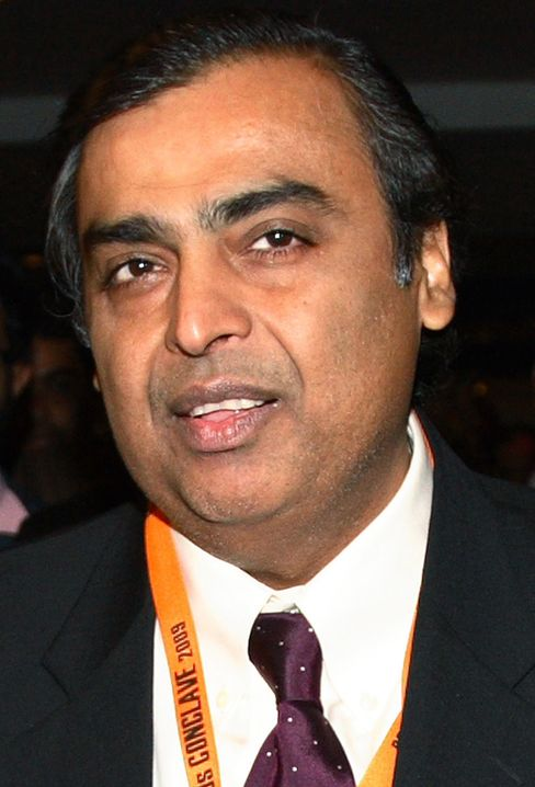 Reliance Industries Chairman Mukesh D. Ambani
