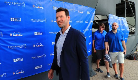 Tony Romo Reportedly Aims to Become Sports Media's $10 Million Man
