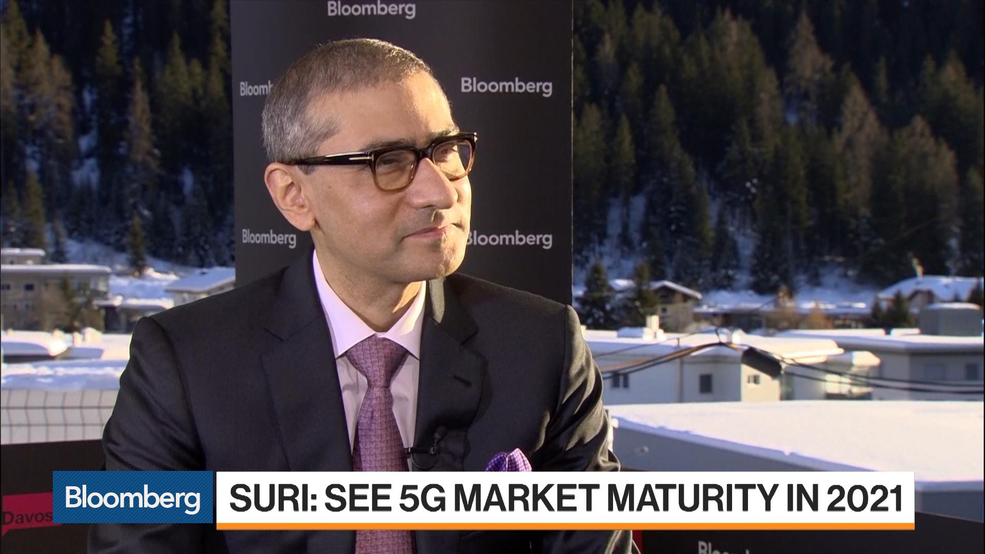Davos: Nokia CEO Rajeev Suri