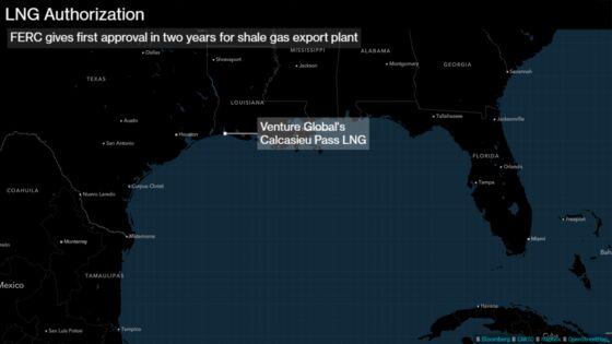 VentureGlobalto Move Ahead With $5 Billion LNG Export Project