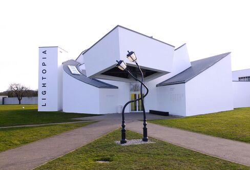 The Vitra Design Museum in Weil am Rhein, Germany.