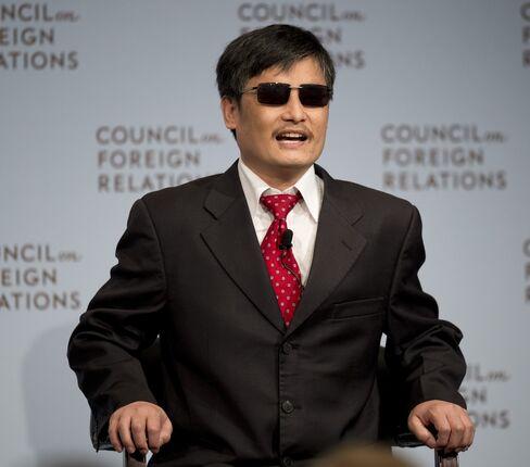 Chinese Legal Activist Chen Guangcheng