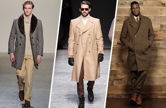 For The Executive - The Double-Breasted Overcoat