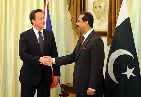 Cameron Calls for a Fresh Start in U.K.-Pakistan Relations