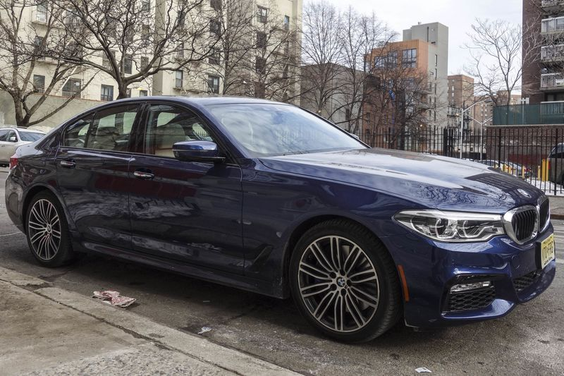The 540i Comes With Adaptive LED Headlights And Fog Lights Chrome Lined Exterior Trim