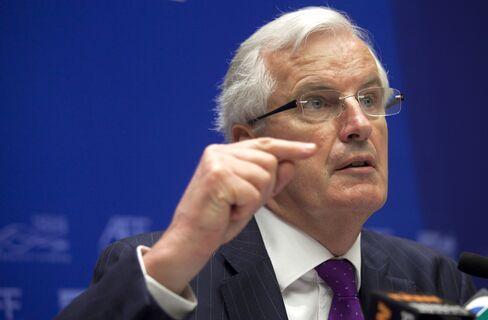 EU Commissioner of Financial Services Michel Barnier