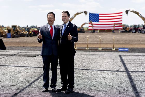 Foxconn Founder Terry Gou Says He May Run for President of Taiwan