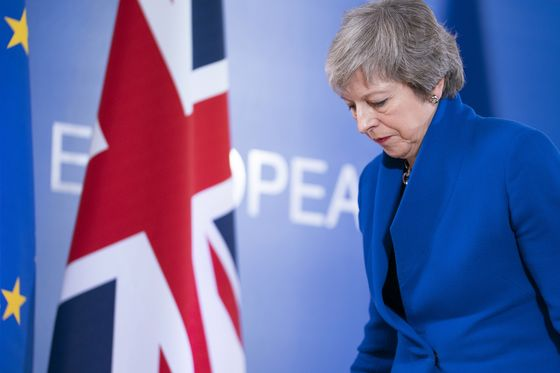 The Next EU Summit Is Days After May's Big Brexit Vote