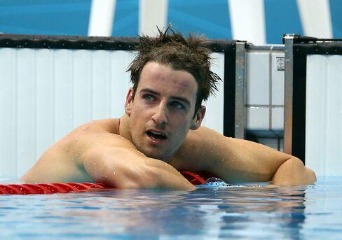 Australia's swimming athlete James Magnussen