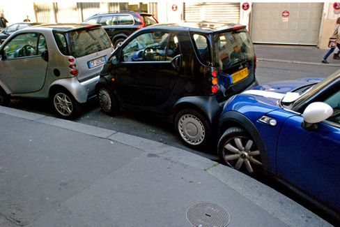 An App to Publicly Humiliate 'Parking Douches'