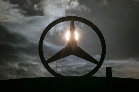 German Automobile Showrooms As Carmakers Drag European Stocks Lower