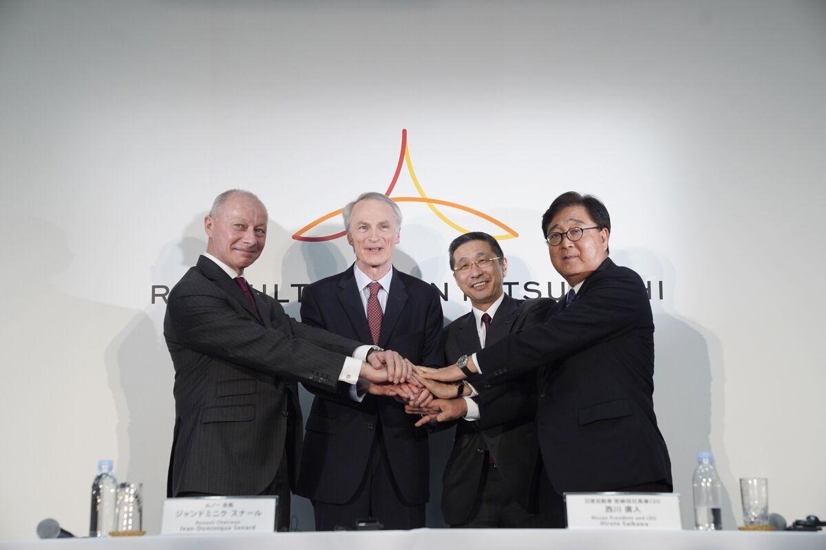 Renault Set to Renew Nissan Merger Push Under Holding Company