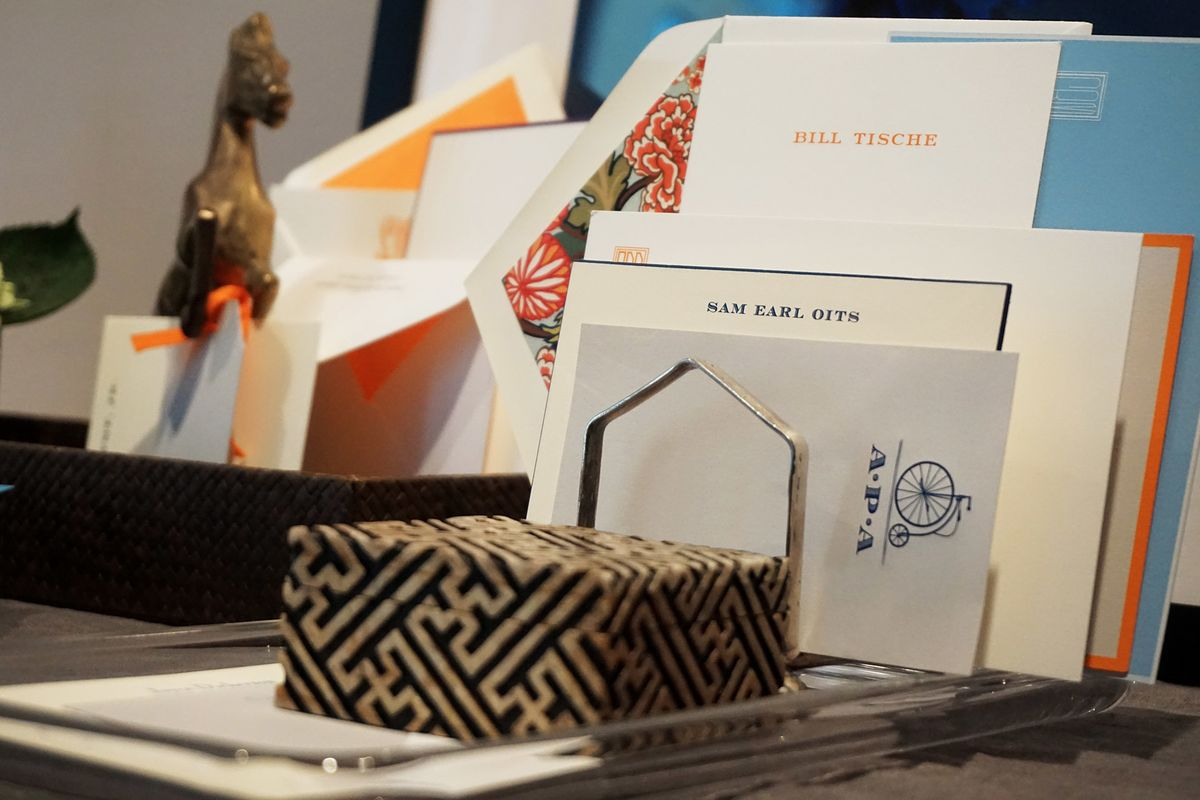 Most Lavish Stationery to Win the 'Thank You' Game - Bloomberg