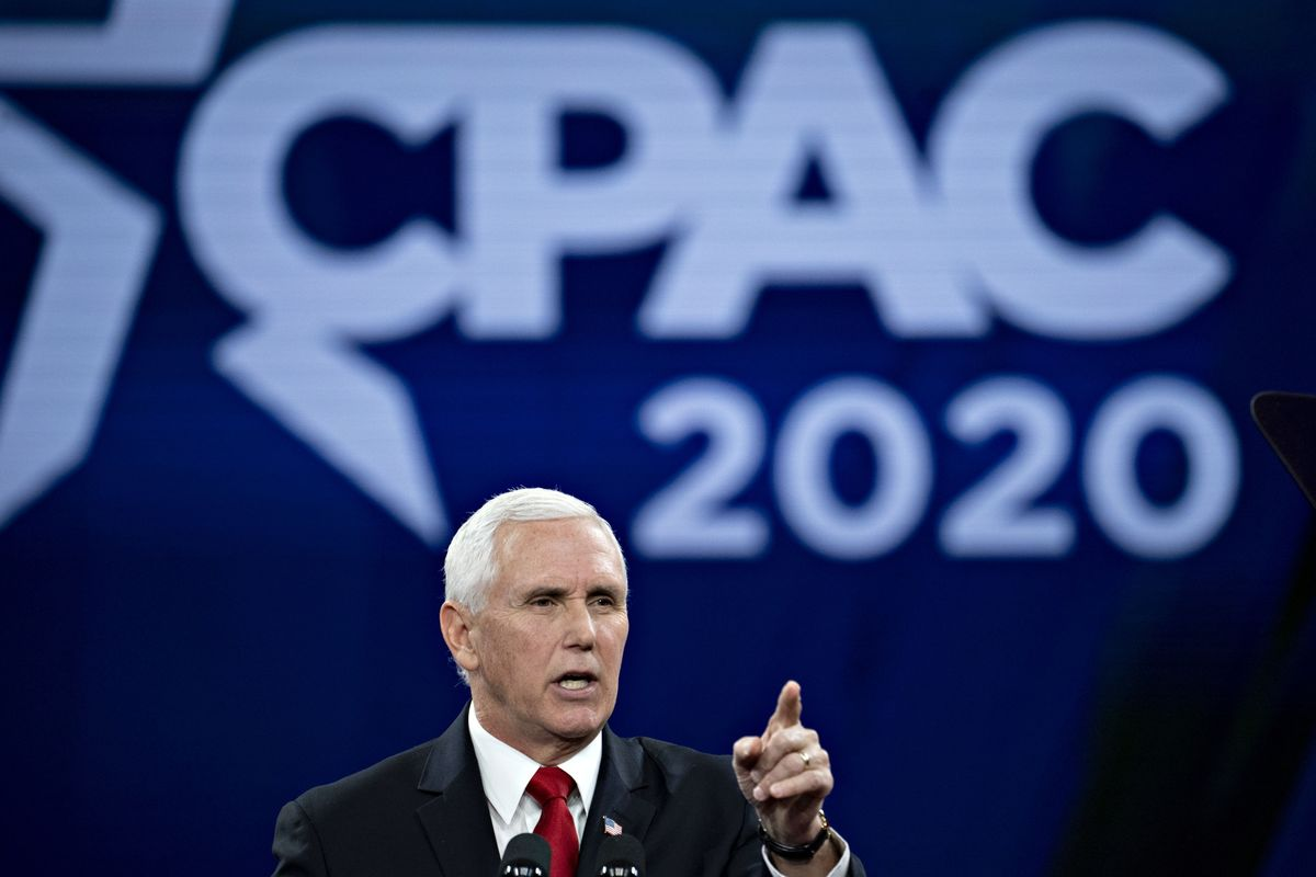 Pence Says He's in Charge of U.S. Virus Response, Not HHS's Azar