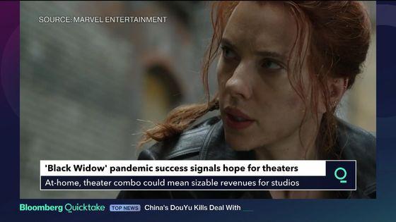 Theater Stocks Fall After Fans Snap Up 'Black Widow' Online