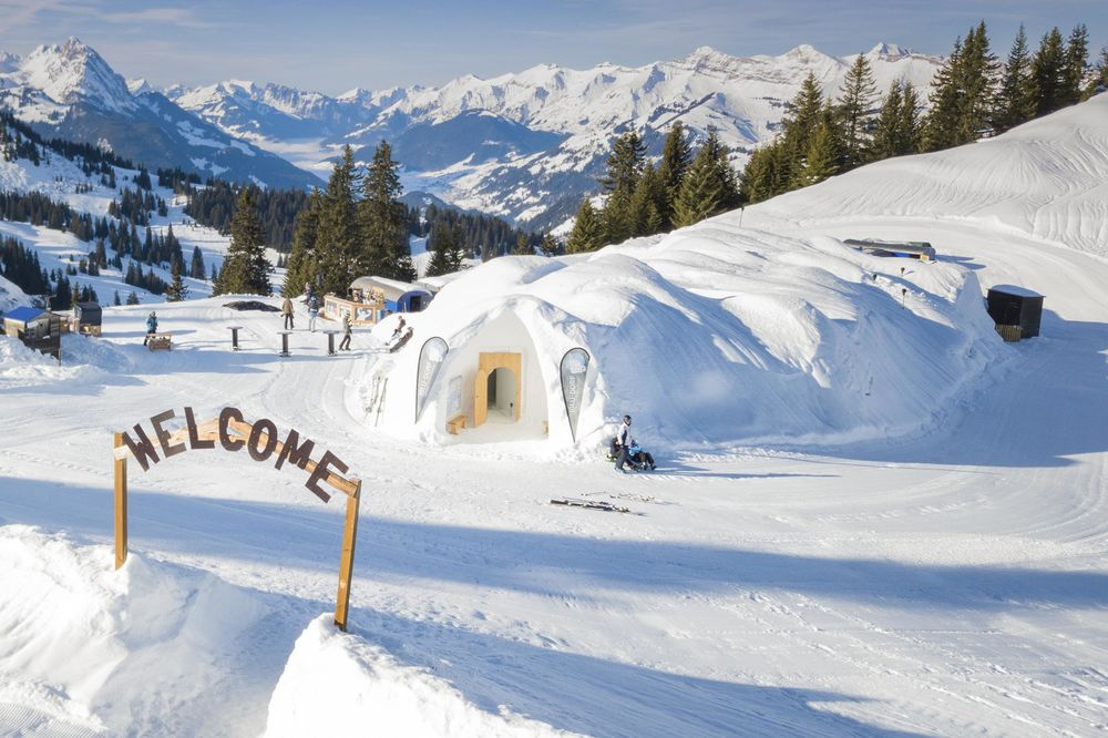 High in the Alps, Igloo Hotels Offer the Epitome of No