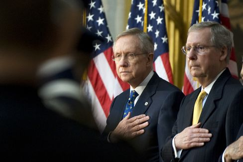 Harry Reid and Mitch McConnell Strike a Deal on Judicial Nominations