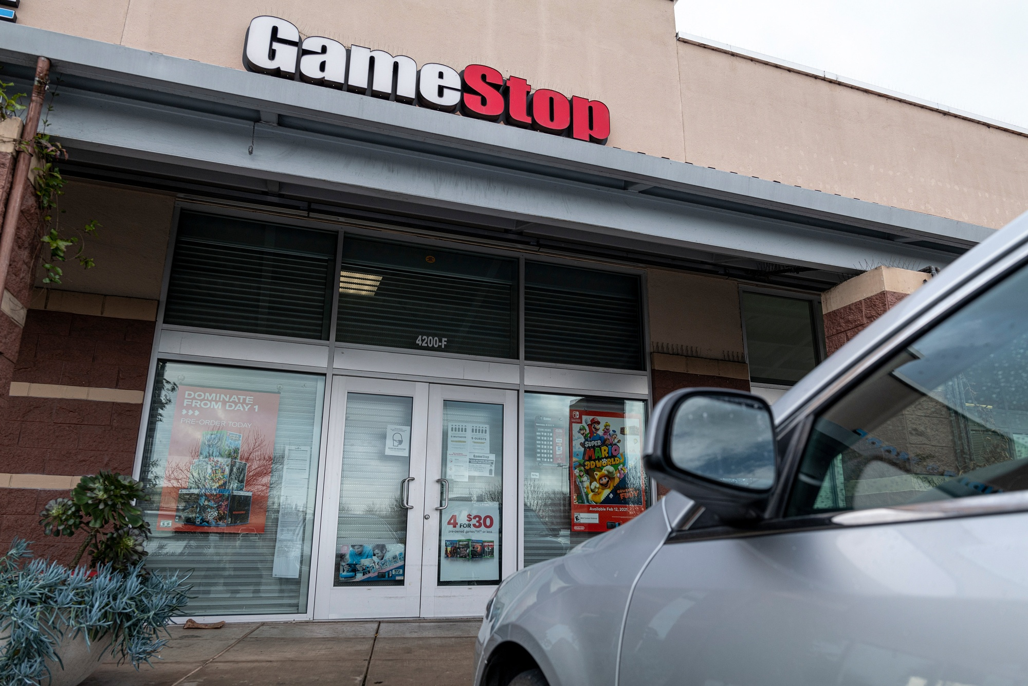 GameStop Rally reaches new extremes as short sellers surrender