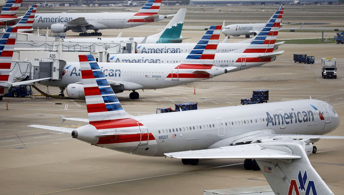 American Airlines Jet Struck Object on JFK Runway During Takeoff