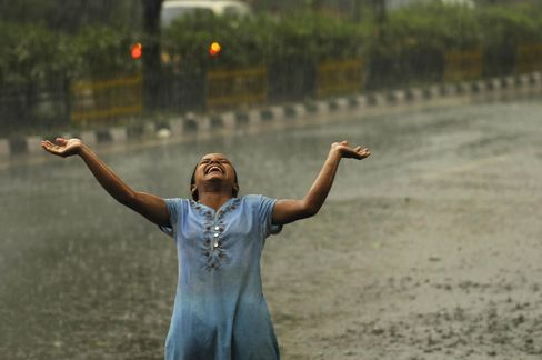 Rains In Delhi And NCR