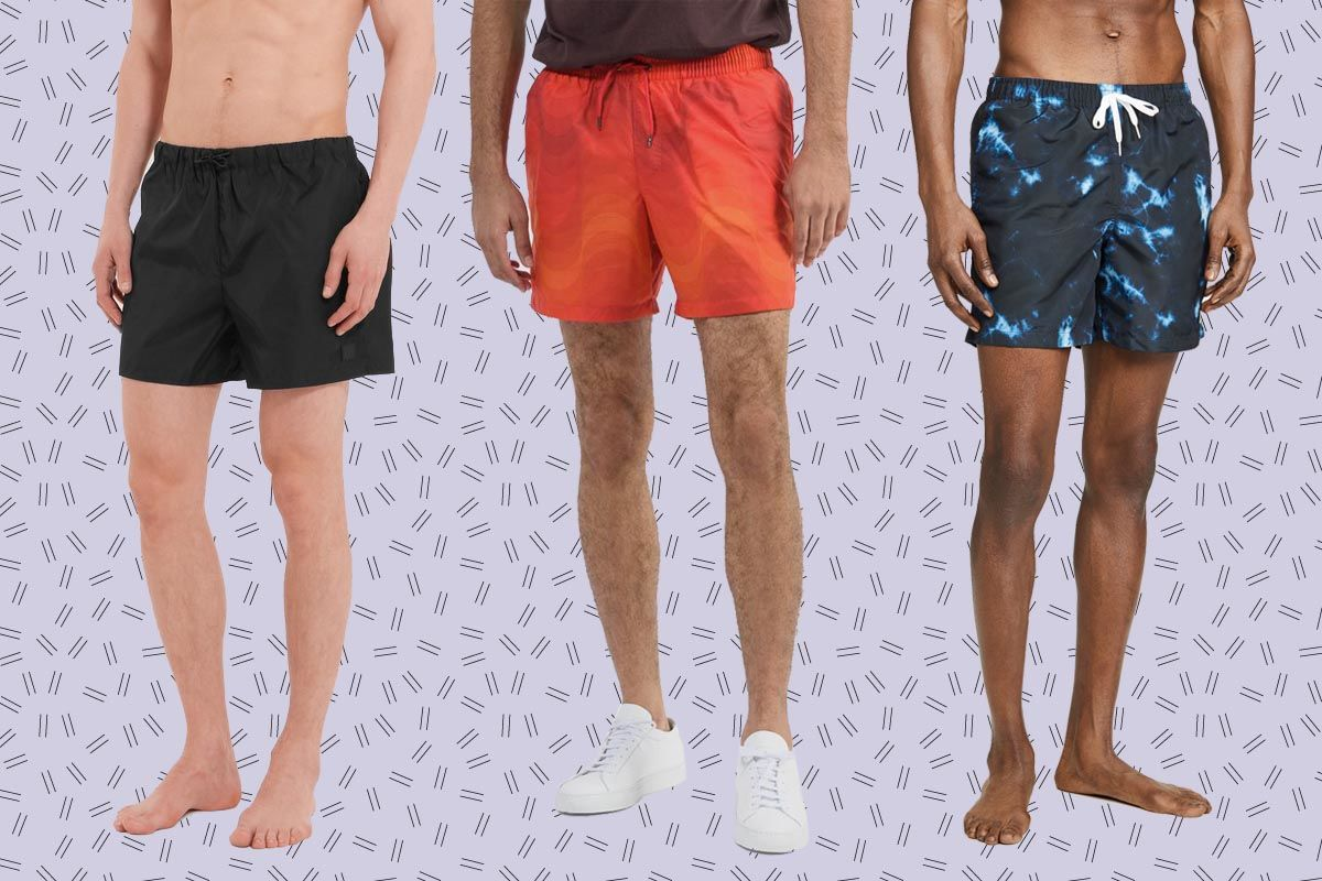 Men/'s Sport Swimwear Summer Beach Drawstring Short Boxers Swimming Trunk Showy