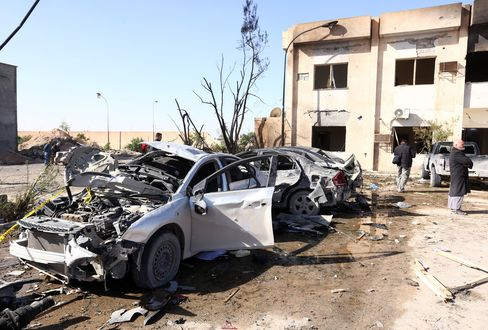 LIBYA-CONFLICT-BOMBING