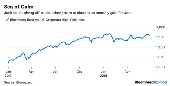 Junk Bonds Give the Optimists a Reason for Being