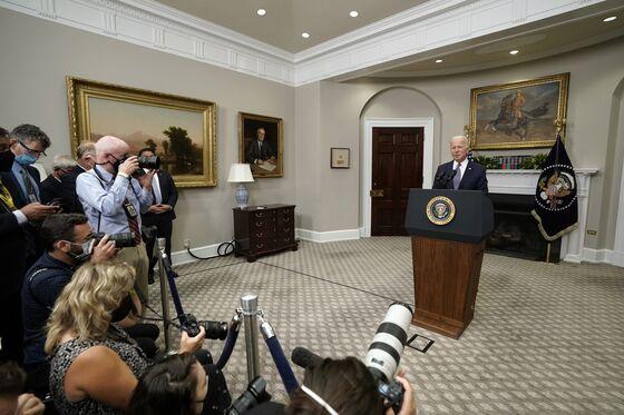 Biden Resists Afghan Deadline Pressure But Seeks Backup Options