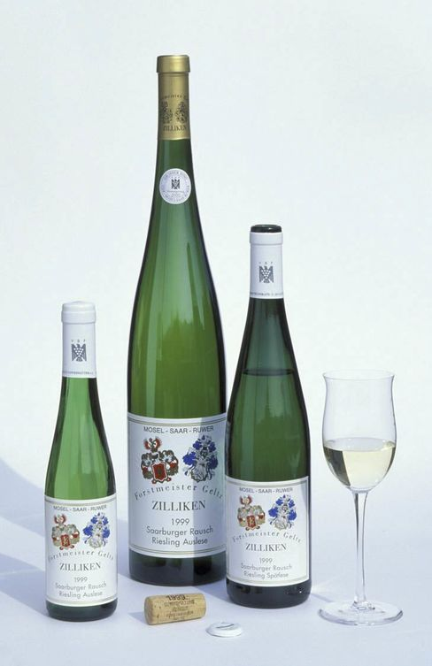 For Zilliken, 1999 yielded both a Spätlese, and a richer, sweeter Auslese.