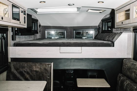 Head for the Hills in a Six-Figure Winnebago on Steroids