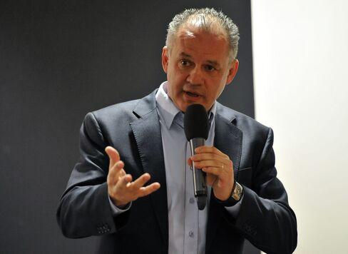 Businessman Andrej Kiska