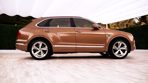 The Bentayga comes with an option of four or five seats inside.