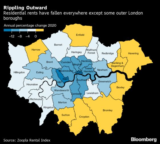 London Emerges From Lockdown Harder Hit Than Much of the U.K.