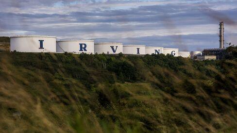 Irving Oil Refinery in New Brunswick, Canada