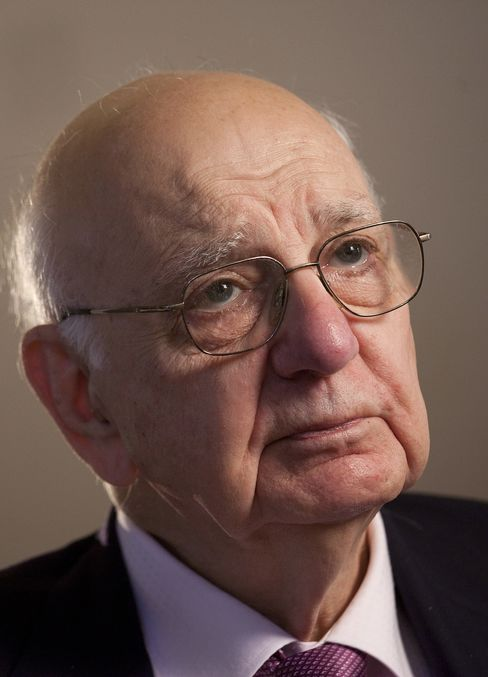 Former Federal Reserve Chairman Paul Volcker