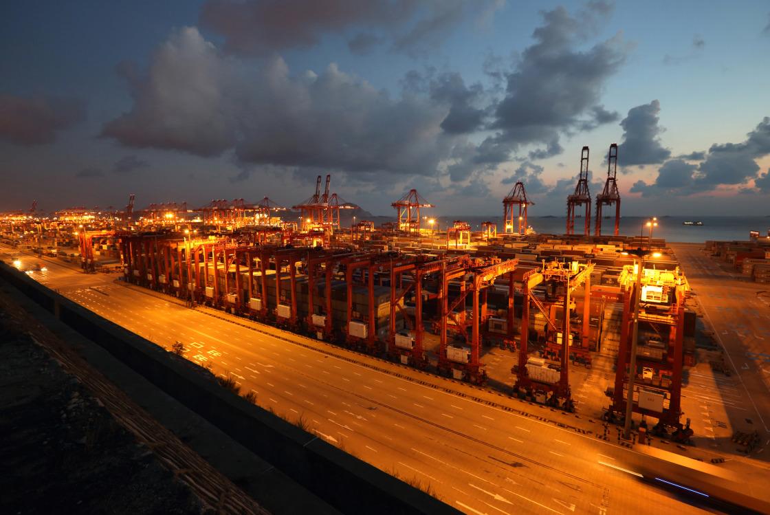 Inside The Yangshan Free Trade Port