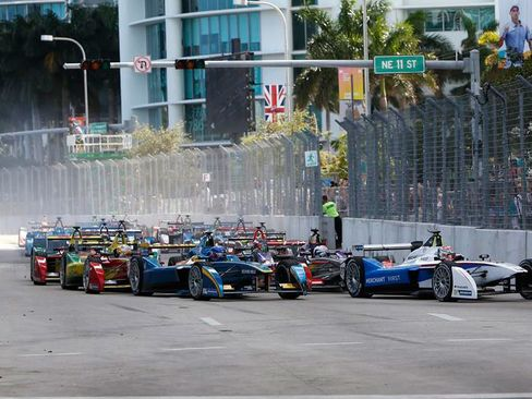 Formula E Miami on March 14, 2015.